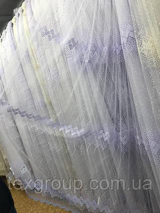 Тюль фатин опт VST-1071, фото 2