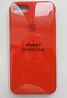 Силиконовый чехол Apple Silicone Case IPHONE 7/8 (Orange)
