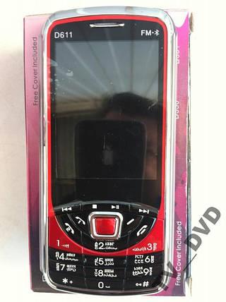 """Мобильный телефон DONOD D611 2 Sim FM 2,8"""""""