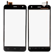Тачскрин (сенсор) для Homtom HT3, Ergo A500 черный оригинал PRC