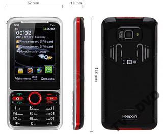 """Мобильный телефон DONOD N30 + TV 2 Sim 2,8"""""""