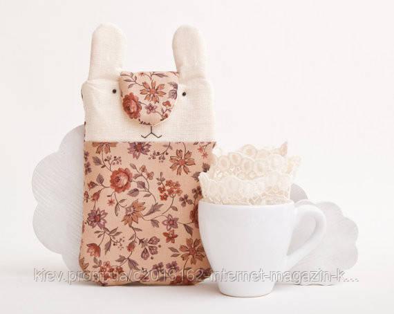 Чехол ручной работы для мобильного телефона и iphone 6 кролик розы узор ткань