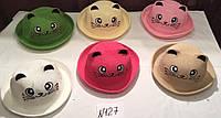 Шляпка для девочки р 50-52