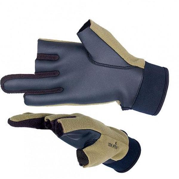 Перчатки флис - непреновые ветрозащитные Norfin 703055-L