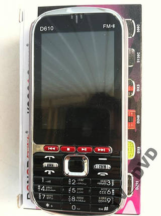 """Мобильный телефон DONOD D610  2 Sim FM 2,8""""  Акция !!!"""