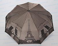 Женский зонт полуавтомат с Эйфелевой башней, фото 1