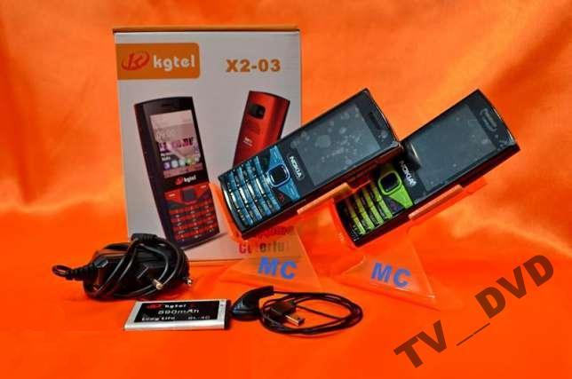 """Мобильный телефон Nokia X2-03 2Sim 2,2"""""""