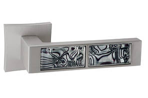 Дверная ручка ORO&ORO BLACK TIGER 203-13E MSN перламутровий никель