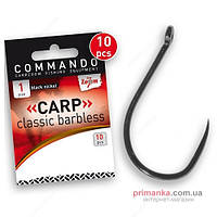 Carp Zoom Крючок Carp Zoom Carp Classic Barbless Hook №2 CZ4718
