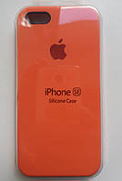 Силиконовый чехол Apple Silicone Case IPHONE 5S/SE ( Orange)