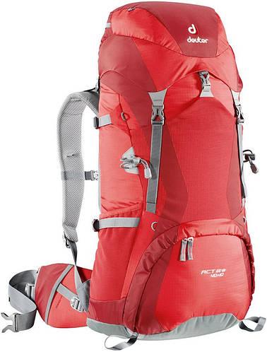 Походный рюкзак ACT LITE 40+10 DEUTER, 33730 5520 красный