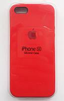 Силиконовый чехол Apple Silicone Case IPHONE 5S/SE ( Red)