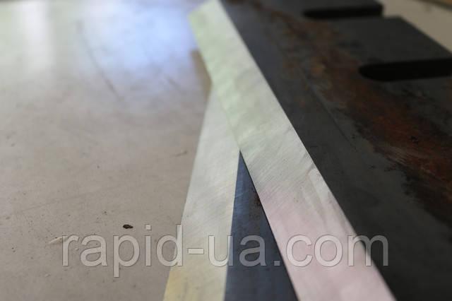 Заточка строгальных, гильотинных, лущильных ножей от Rapid