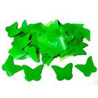 Конфетти бабочки зелёные, 50 грамм