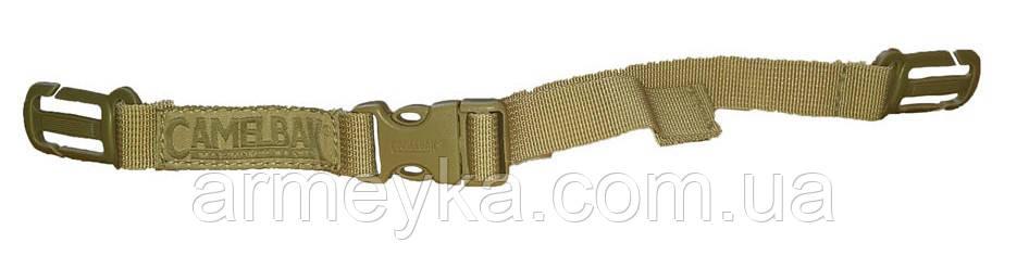 Грудная утяжка Sternum Strap CamelBak для гидраторов/рюкзаков, coyote tan. Великобритания, оригинал.
