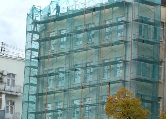 Затеняющая сетка для маскирования строительных объектов, строительства
