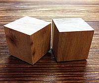 Деревянные кубики из ольхи 2*2 см