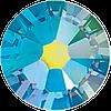 Стразы цветные Swarovski 100 шт AQUMARINE