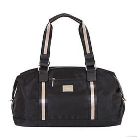 Женская дорожная сумка черного цвета
