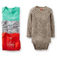 """Боди Картерс 6м """"Леопард"""", фото 1"""