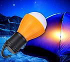 Туристическая походная лампа на батарейках, фото 8