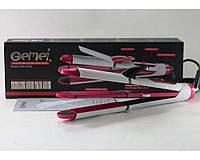 Праску - випрямляч для волосся Gemei GM 2966, керамічне покриття, 3 насадки, 30 Вт, для будь-яких типів волосся, оптимальний температурний режим