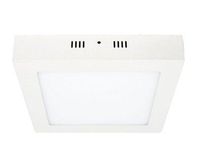 Накладной светодиодный светильник Delux 24Вт квадрат