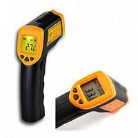 Лазерный цифровой термометр AR360A+ Пирометр - прибор для бесконтактного измерения температуры Код: КДН3475