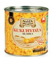 Кукуруза сладкая Nasza spizarnia 340/285гр