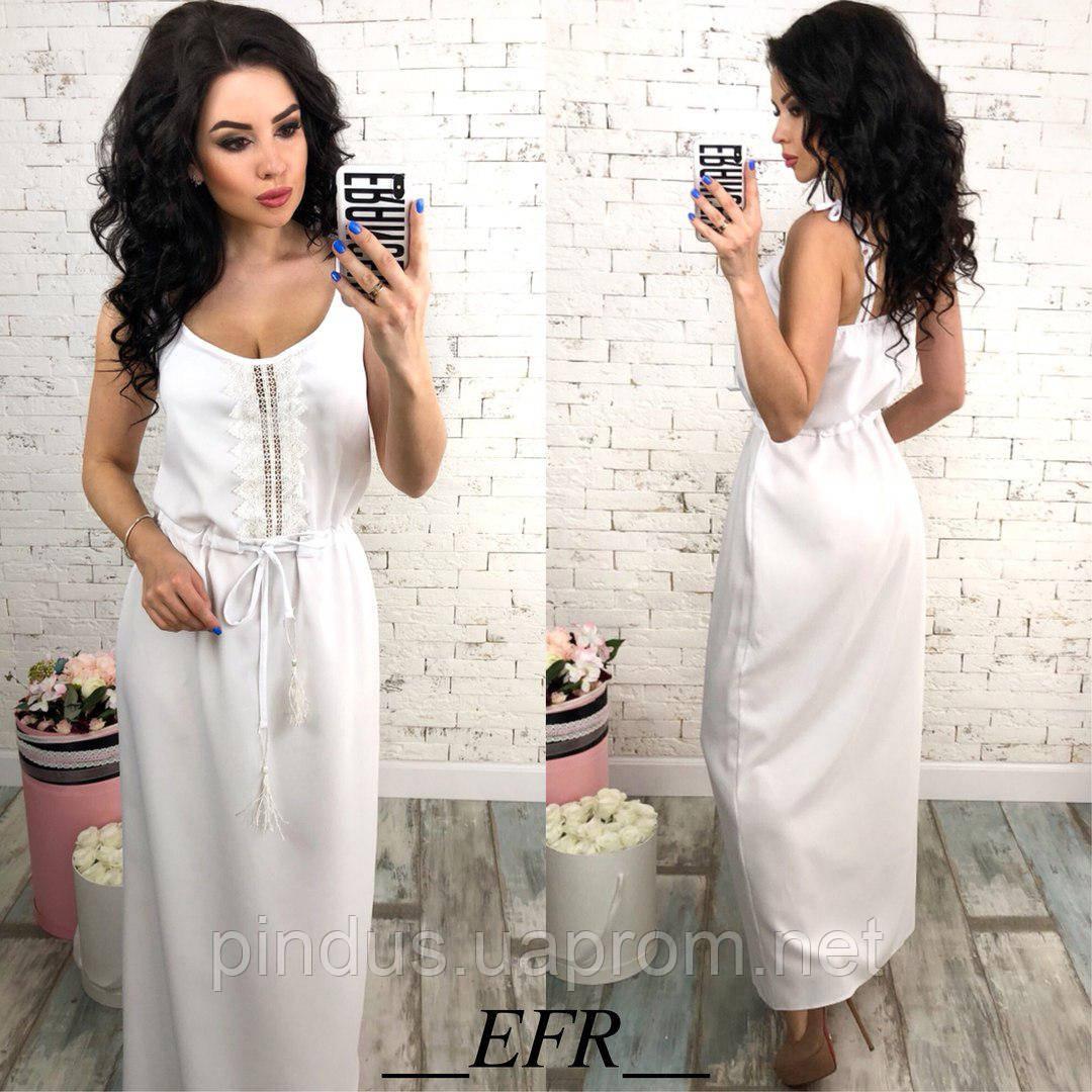 fea720a7310 Женское летнее платье в пол