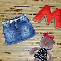 Джинсовая юбка (1, 3 года)