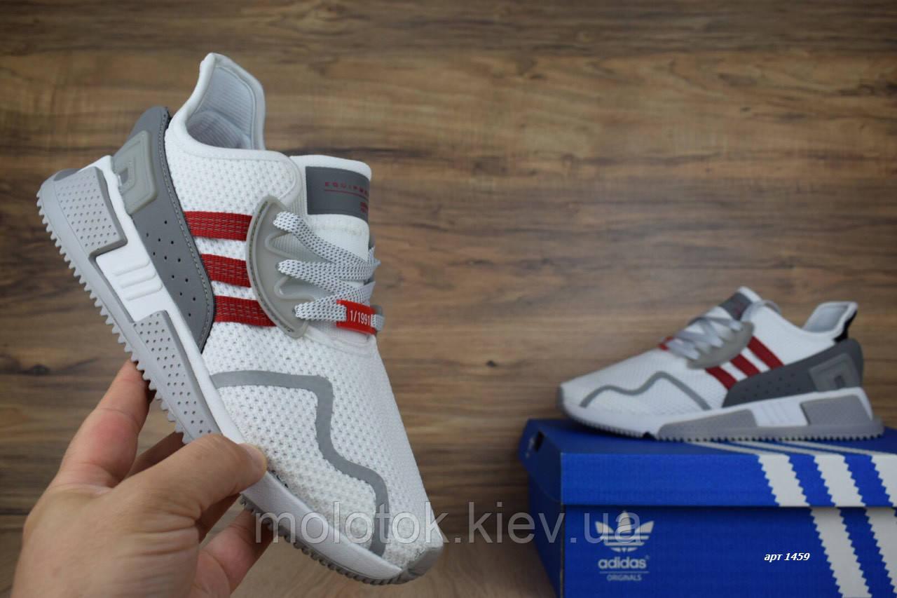 f42e97c9 Мужские кроссовки Adidas EQT Cushion ADV белые с красным Топ Реплика  Хорошего качества