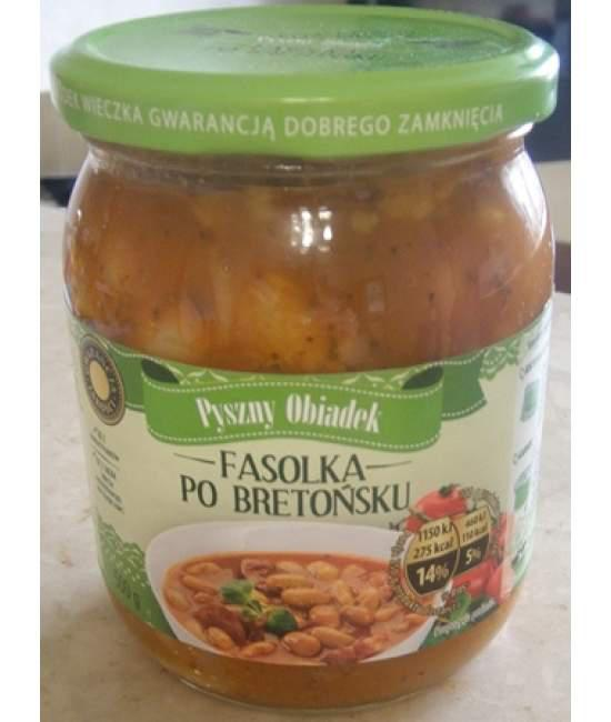 Фасоль Po Bretonsku Domowy obiadek 500г