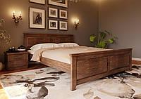 Кровать из дерева (сосна, еврощит) Майя NEW 140*190/200 ЧДК, фото 1