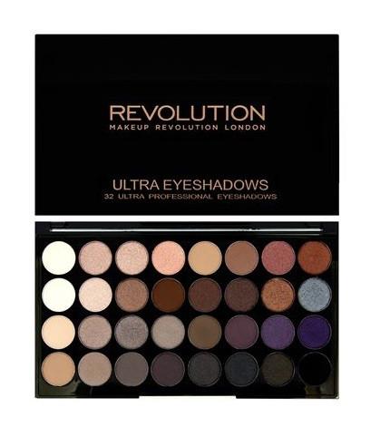 Палетка теней для век Makeup Revolution Ultra Shade Eyeshadow Palette Affirmation