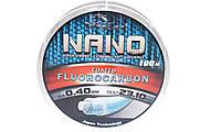 Леска с флюорокарбоновым покрытием TOUGHLON Nano 100м. 0,22 (9,06кг.)