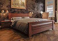 Кровать из дерева Элит NEW 90*190/200 ЧДК (сосна, еврощит) , фото 1