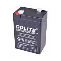 Аккумулятор батарея GDLITE 6V 4.0Ah GD-645 отличного качества Портативная батарея Удобный дизайн Код: КДН3482