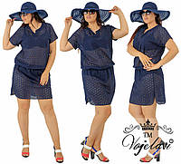 Пляжное платье,туника батал прошва (цвета в ассортименте)