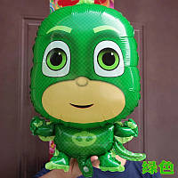 Фольгированный воздушный шар PJ МАСКИ 44*69 см.Грег/Гекко (Greg/Gekko) — зеленоглазый мальчик