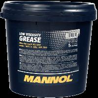 Cмазка для тихоходных коробок передач и централизованных систем Mannol Li-EP-00/000 Low Viscosity Grease (18kg