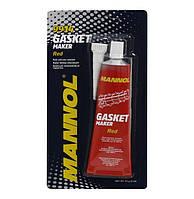 Высокотемпературный силиконовый герметик красный Mannol 9914 Gasket Maker Red (85g), фото 1