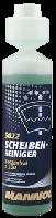 Жидкость в бачок омывателя Mannol (летняя), антимошка, Mannol 5022 Scheiben Reiniger Konzentrat 1:100 (250ml)