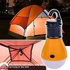 Туристическая походная лампа на батарейках, фото 2