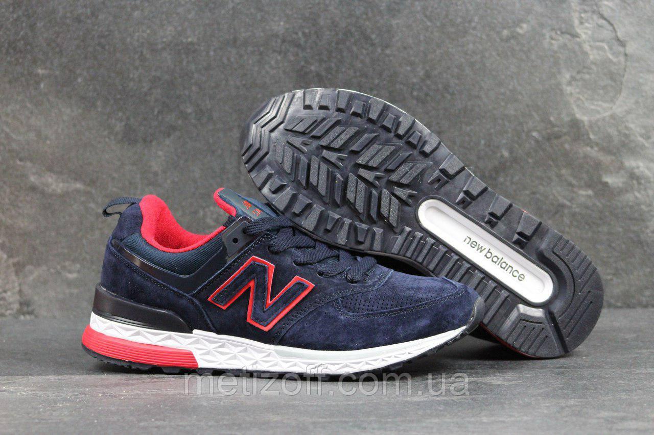 Мужские кроссовки New Balance 574 тёмно синие  продажа, цена в ... 05fee21827c