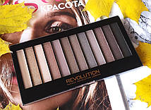 Палетка теней для век Makeup Revolution Eyeshadow Palette Iconic 2