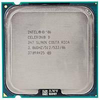 Процессор Intel Celeron D 347, 3.06 GHZ/512/533