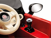 Детский Электромобиль Fiat 500 Red 6V без пульта, мощность 60W, фото 3
