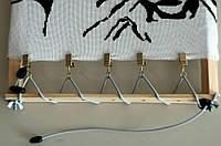 Боковая натяжка канвы металлические зажимы