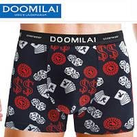 Мужские боксеры стрейчевые из бамбука «DOOMILAI» Арт.D-01125